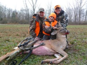 Michael's 1st Buck